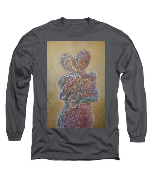 Where You Start And I Begin Long Sleeve T-Shirt by Theresa Marie Johnson