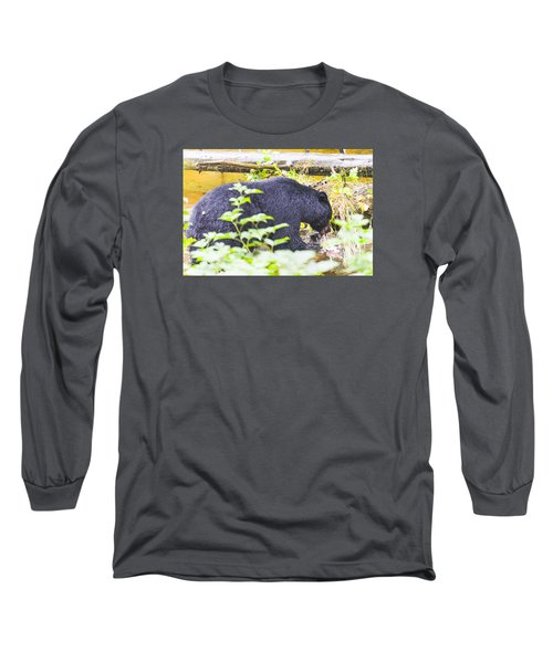Wheres The Bagel Long Sleeve T-Shirt by Harold Piskiel