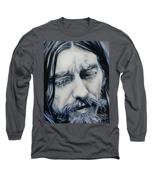 While My Guitar Long Sleeve T-Shirt