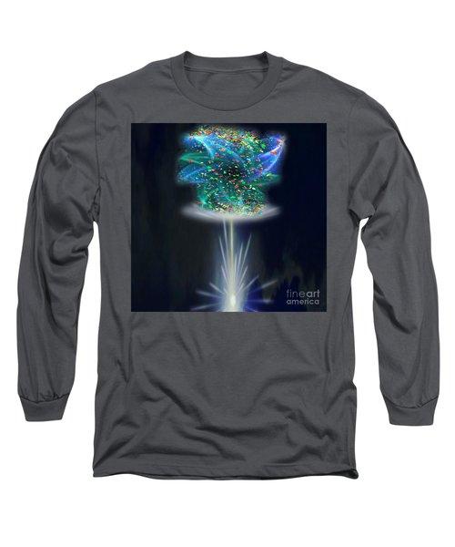 Whimsical Long Sleeve T-Shirt by Belinda Threeths