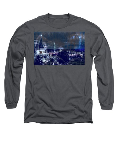 Whimsical Budapest Long Sleeve T-Shirt