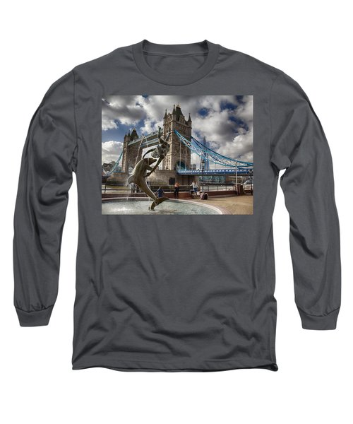Whimsy At Tower Bridge Long Sleeve T-Shirt
