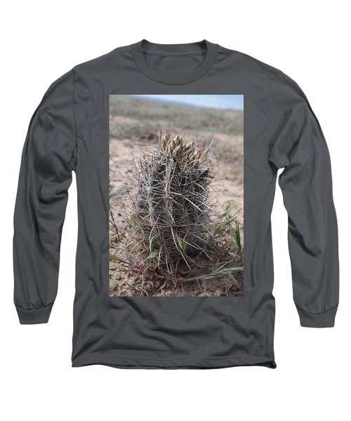 Long Sleeve T-Shirt featuring the photograph Whipple's Fishook Cactus by Jenessa Rahn