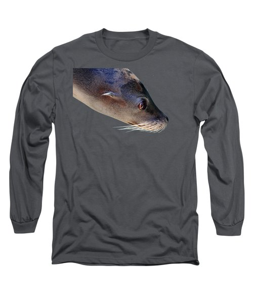 Whiskers Long Sleeve T-Shirt by Debbie Oppermann