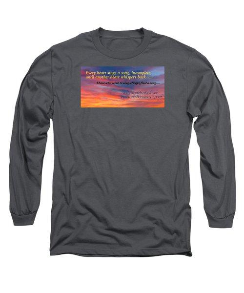 Whisper Long Sleeve T-Shirt by David Norman