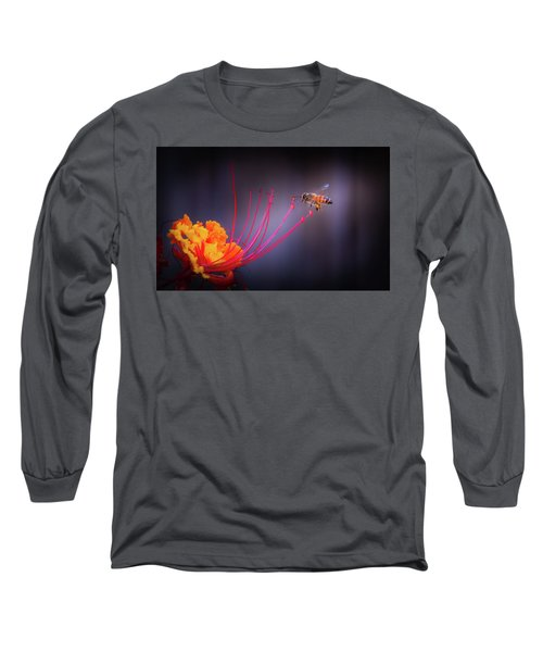 Whispering Wings 1 Long Sleeve T-Shirt by Mark Dunton