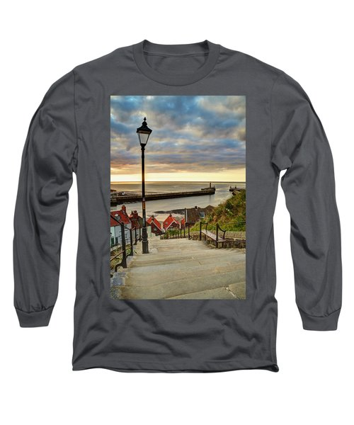 Whitby Sun Set Long Sleeve T-Shirt