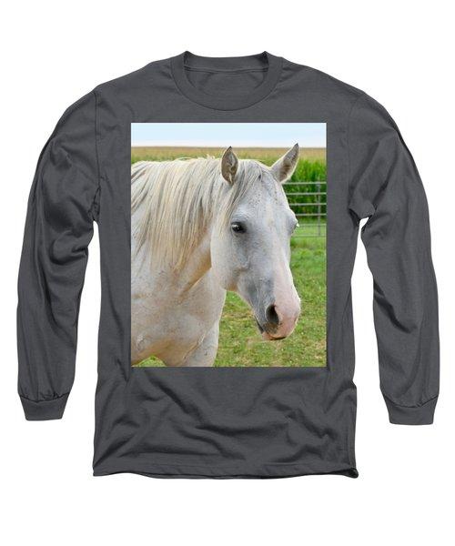 White Beauty Long Sleeve T-Shirt