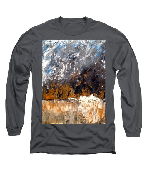White Buildings No.3 Long Sleeve T-Shirt