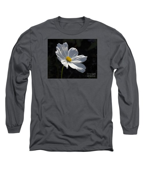 White Cosmos Long Sleeve T-Shirt