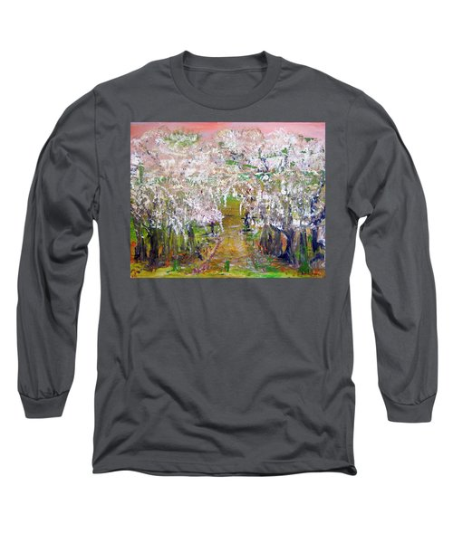 White Delight Long Sleeve T-Shirt