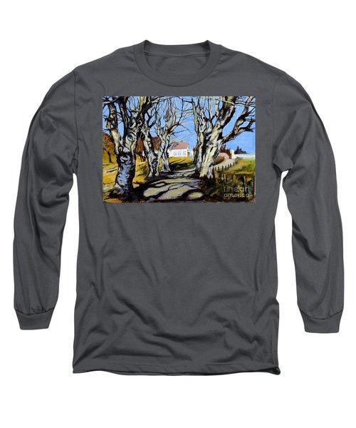 White Grove Long Sleeve T-Shirt