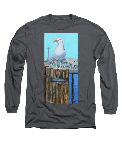 White Gull Long Sleeve T-Shirt