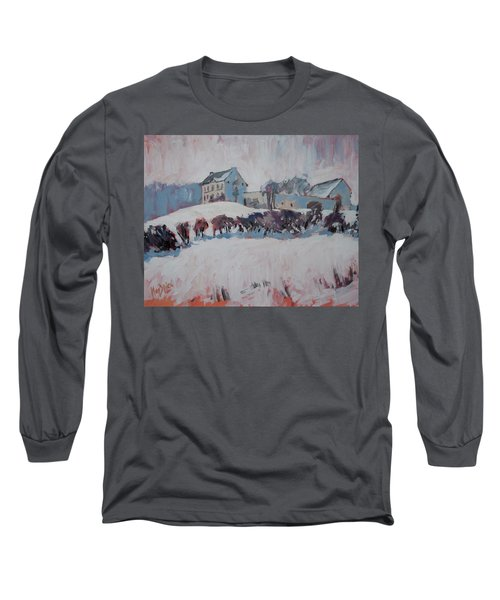 White Hill Zonneberg Maastricht Long Sleeve T-Shirt by Nop Briex