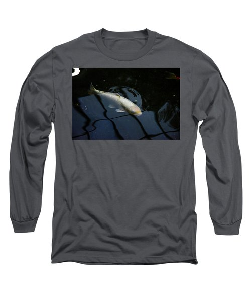White Koi Long Sleeve T-Shirt