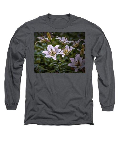 White Lilies #g5 Long Sleeve T-Shirt