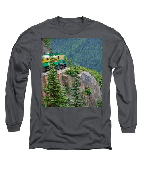 White Pass Train Alaska - Canada Long Sleeve T-Shirt