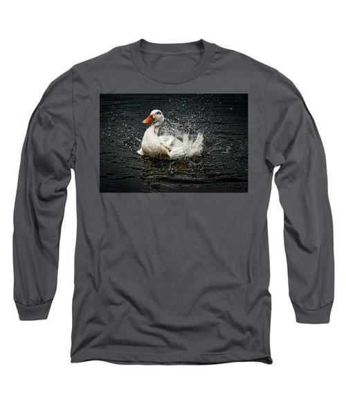 White Pekin Duck Long Sleeve T-Shirt