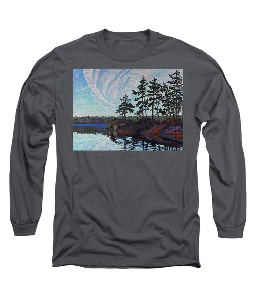 White Pine Island Long Sleeve T-Shirt