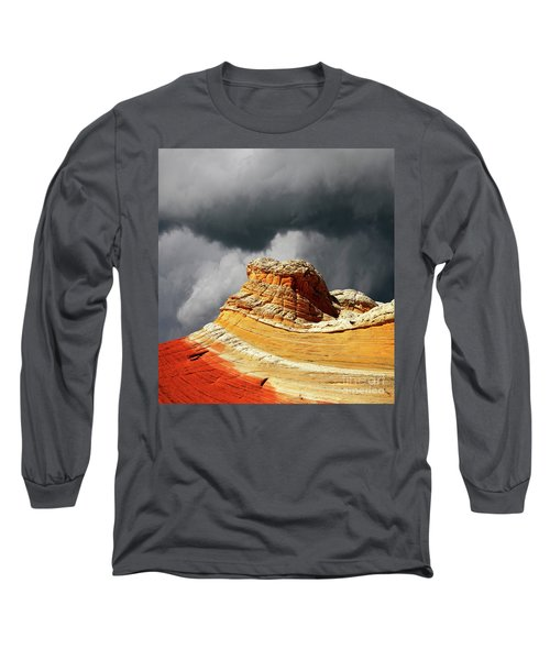 Long Sleeve T-Shirt featuring the photograph White Pocket 35 by Bob Christopher