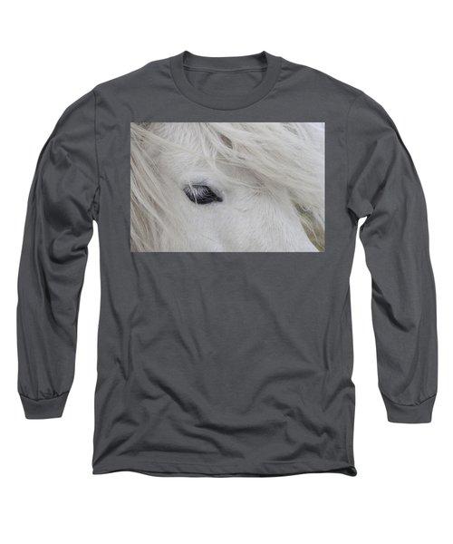 White Pony Long Sleeve T-Shirt