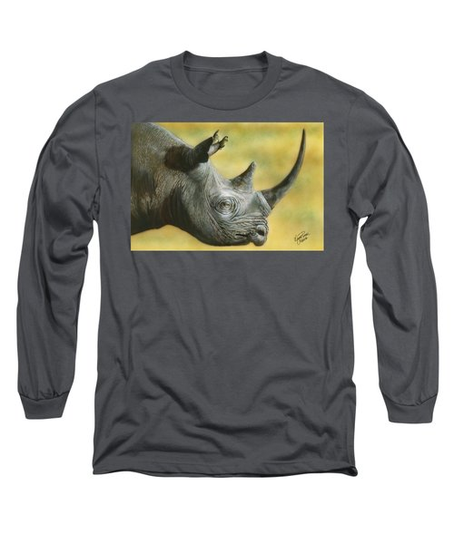 White Rhino Long Sleeve T-Shirt