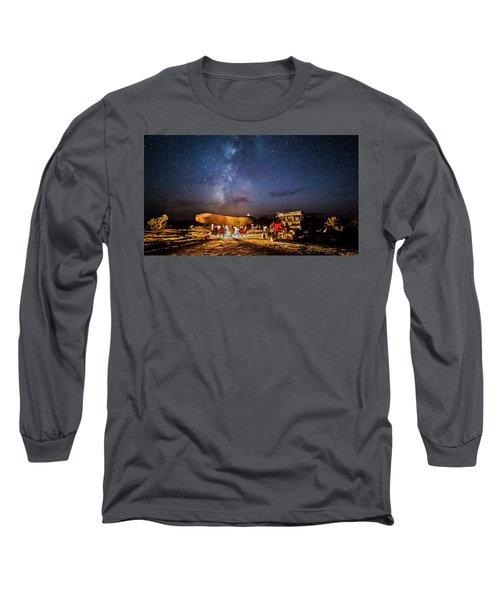 White Rim Camp Long Sleeve T-Shirt