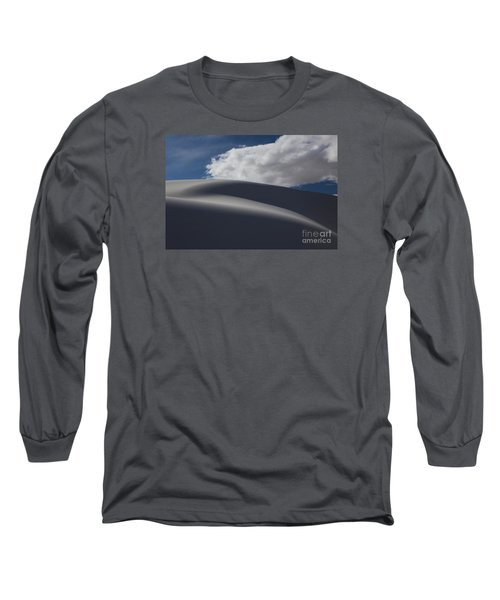 White Sands National Monument Long Sleeve T-Shirt by Keith Kapple