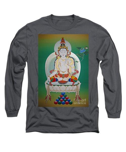 White Tara Long Sleeve T-Shirt