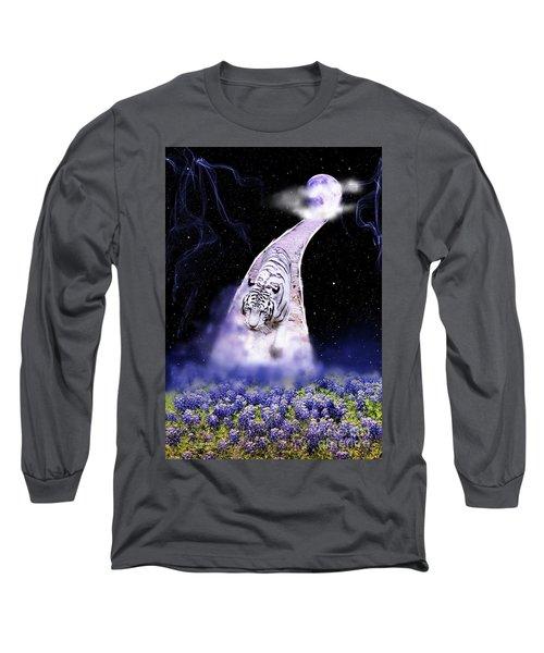 White Tiger Fantasy Long Sleeve T-Shirt
