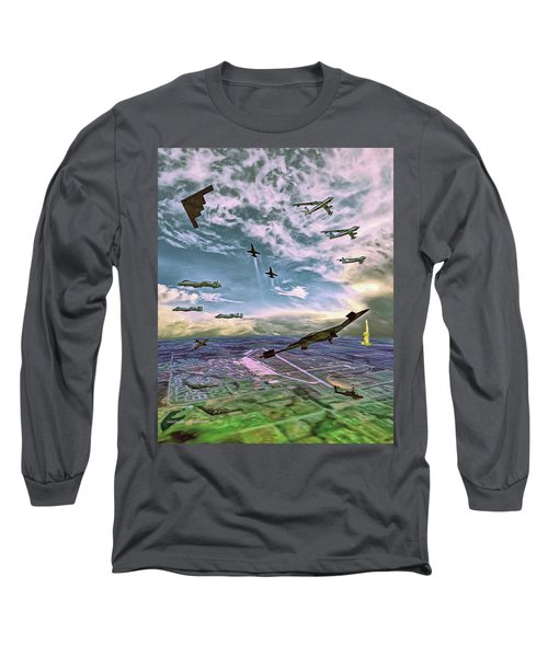Whiteman Air Force Base Long Sleeve T-Shirt