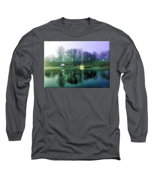 Long Sleeve T-Shirt featuring the photograph White's Cove Awakening by Brian Wallace