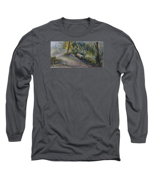 Whiteshell Trail Long Sleeve T-Shirt by Joanne Smoley