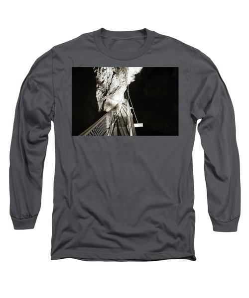 Whitewater Walk Long Sleeve T-Shirt by Jan W Faul