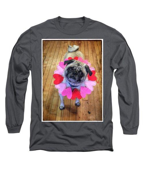 Who Loves Ya Baby Long Sleeve T-Shirt