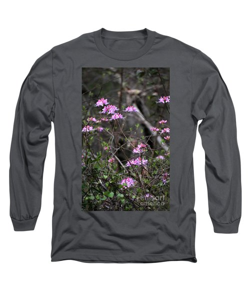 Long Sleeve T-Shirt featuring the photograph Who Put The Wild In Wildflowers by Skip Willits