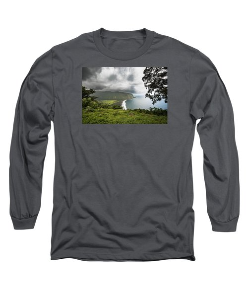 Wiapio Valley Long Sleeve T-Shirt by Allen Biedrzycki