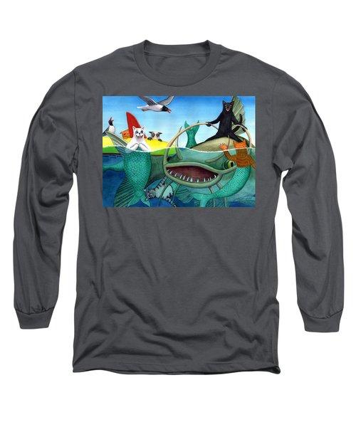 Wicked Kitty's Catfish Long Sleeve T-Shirt