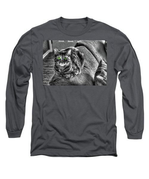 Wide Eyes Long Sleeve T-Shirt