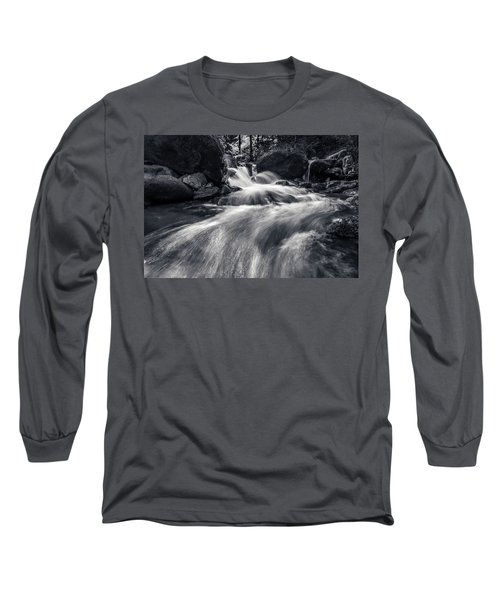 wild creek in Harz, Germany Long Sleeve T-Shirt by Andreas Levi
