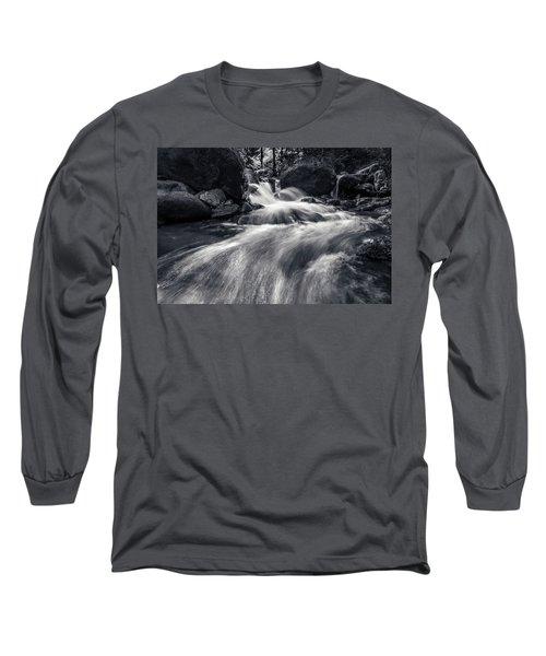 wild creek in Harz, Germany Long Sleeve T-Shirt