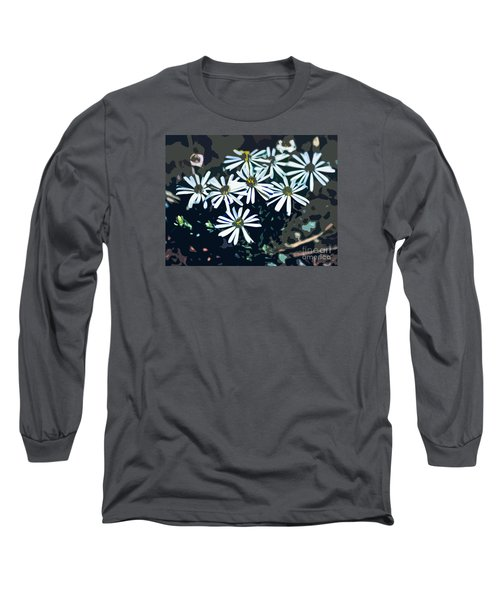 Wild Daisy Art  Long Sleeve T-Shirt