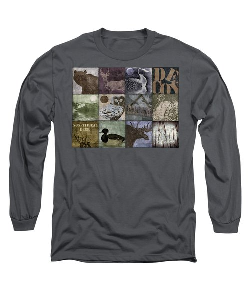 Wild Game Patchwork II Long Sleeve T-Shirt