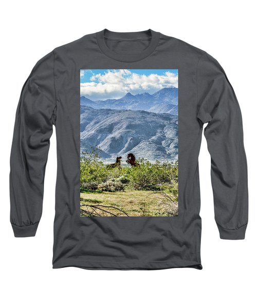 Wild Metal Mustangs Long Sleeve T-Shirt