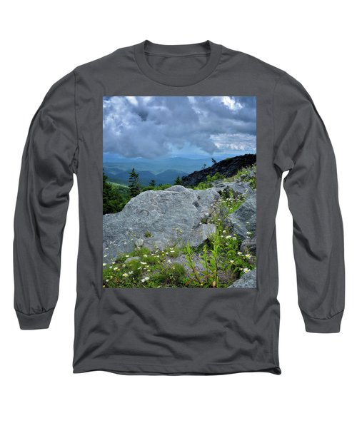 Wild Mountain Flowers Long Sleeve T-Shirt