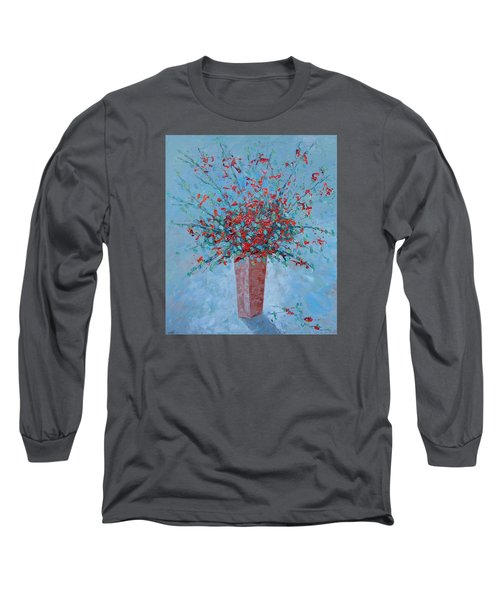 Wild Red Provence Floral Long Sleeve T-Shirt
