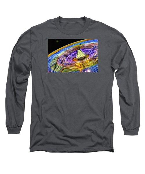 Long Sleeve T-Shirt featuring the photograph Wild Ride by John Swartz