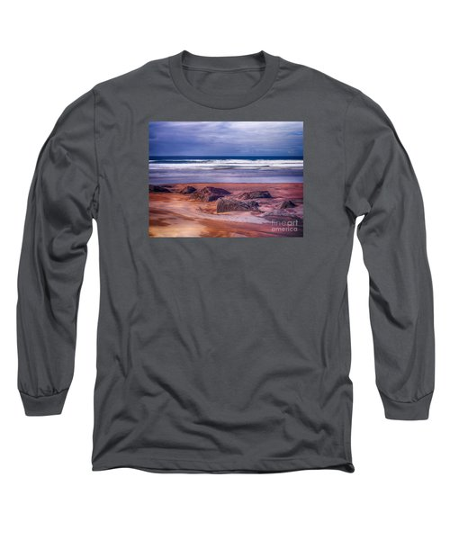 Long Sleeve T-Shirt featuring the photograph Sand Coast by Juergen Klust