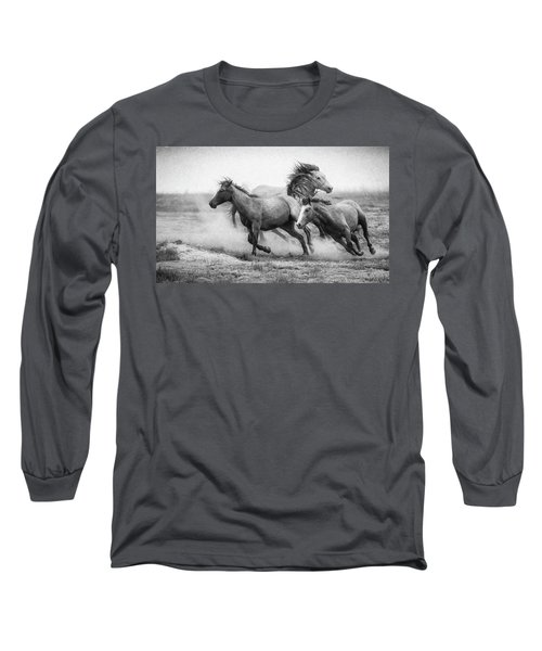 Long Sleeve T-Shirt featuring the photograph Wild West by Kelly Marquardt
