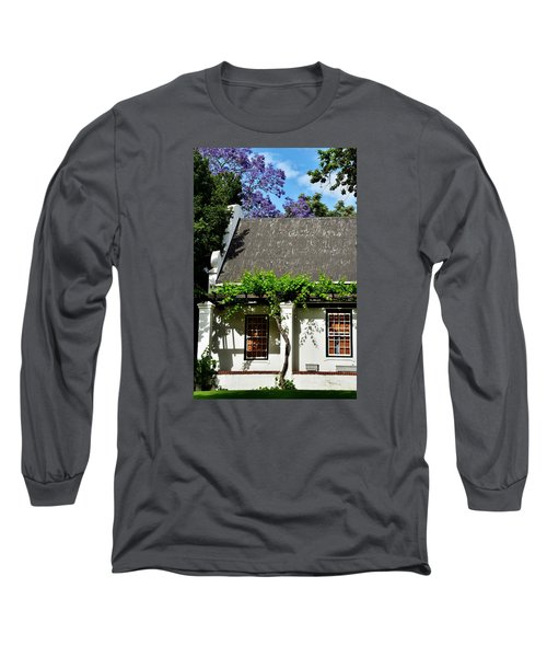 Long Sleeve T-Shirt featuring the photograph wild Wine by Werner Lehmann